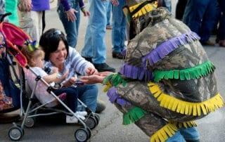 Mardi Gras Parade in Eunice, Louisiana