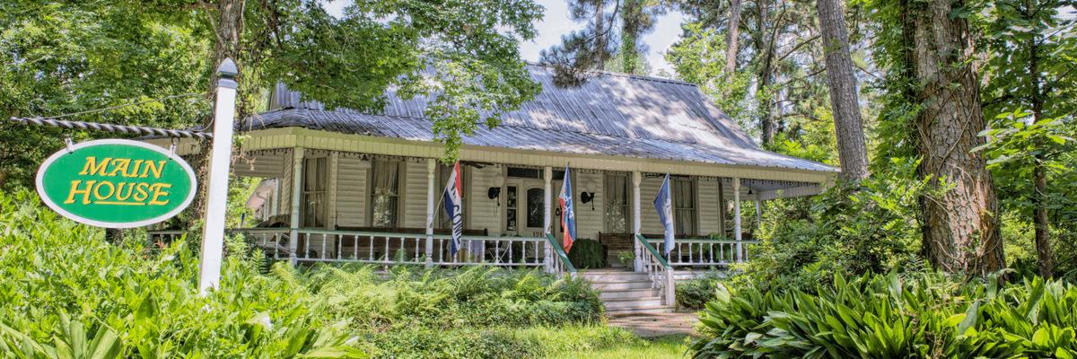 Le Village Guesthouse in Eunice, Louisiana