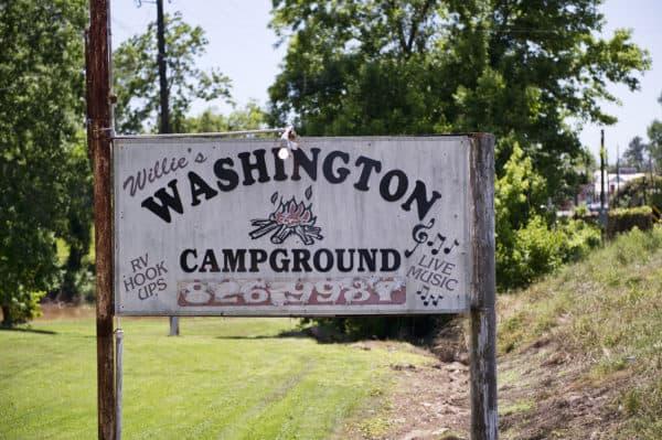 Willie's Campground in Washington, Louisiana