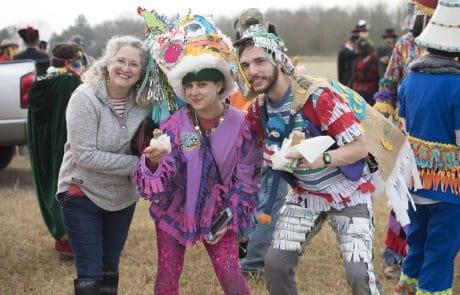Courir de Mardi Gras and Chicken Run in Eunice, Louisiana