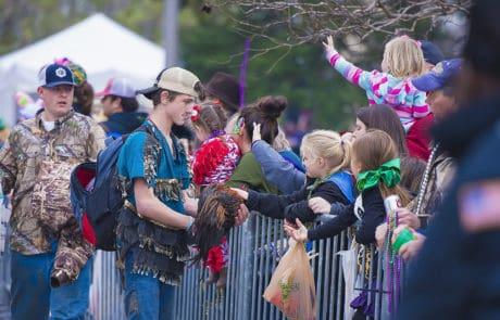 Eunice Lil' Mardi Gras Parade