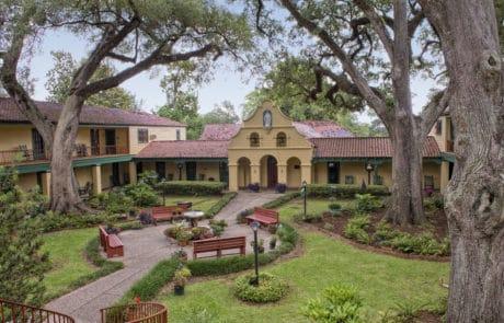 Retreat Center in Grand Coteau, Louisiana