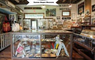 Eunice Depot Museum in Eunice, Louisiana