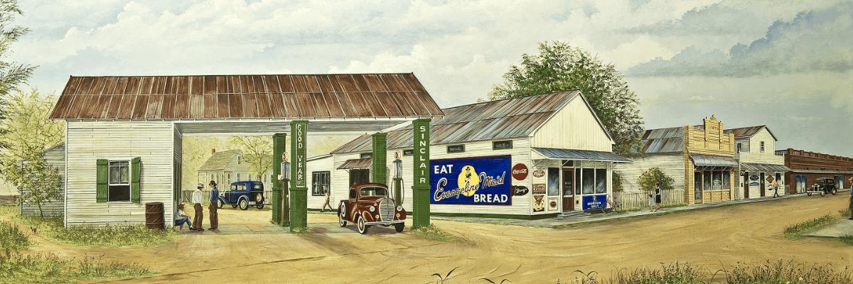 Arnaudville Mural
