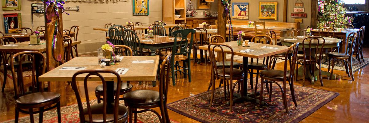 Café Josephine in Sunset, Louisiana