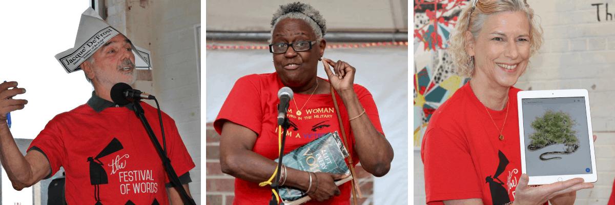 Festival of Words in Grand Coteau, Louisiana
