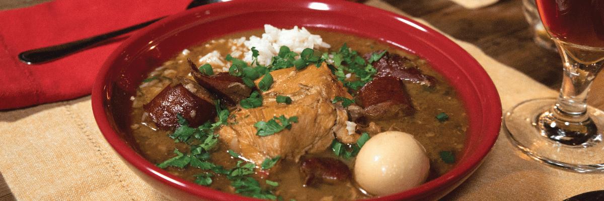 Cajun Chicken & Sausage Gumbo Recipe