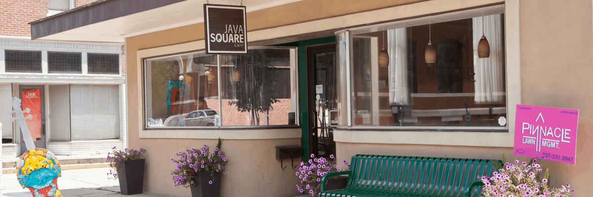 Java Square Cafe in Opelousas, Louisiana
