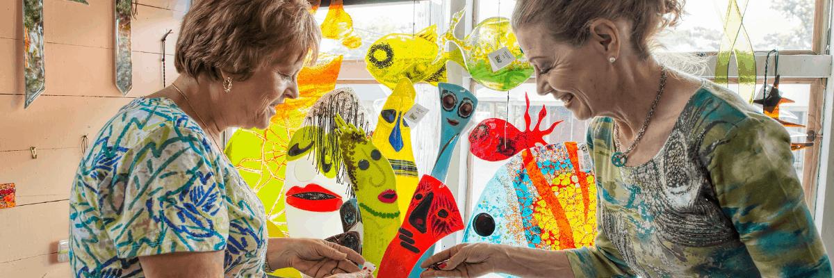 Jerilyn's Fused Glass Gallery & Art Studio in Sunset, Louisiana