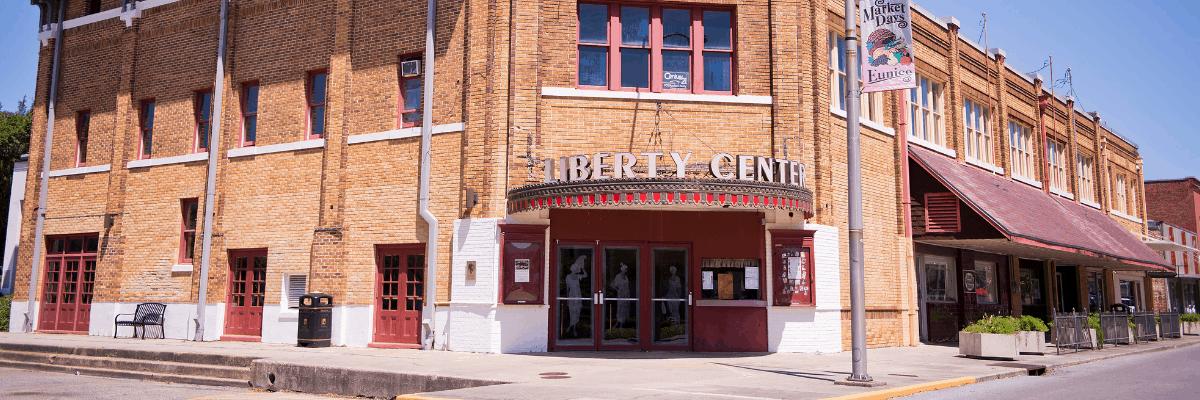 Liberty Theatre in Eunice, Louisiana