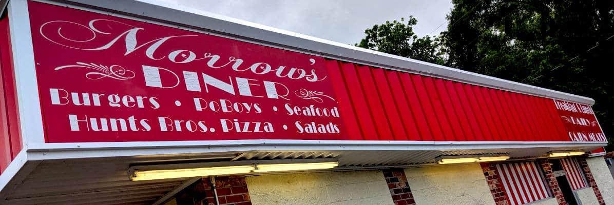 Morrow's Diner, Krotz Springs, Louisiana