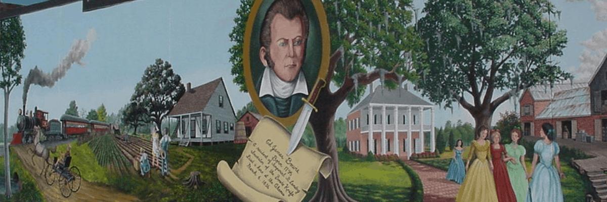 Mural History in Opelousas, Louisiana