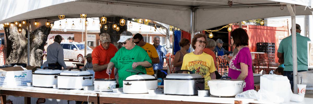 Annual Étouffée Festival in Arnaudville, Louisiana