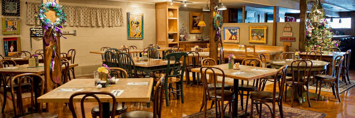 Cafe Josephine in Sunset, Louisiana