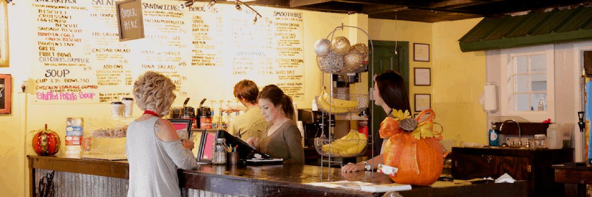 Chicory's Coffee & Cafe in Grand Coteau, Louisiana