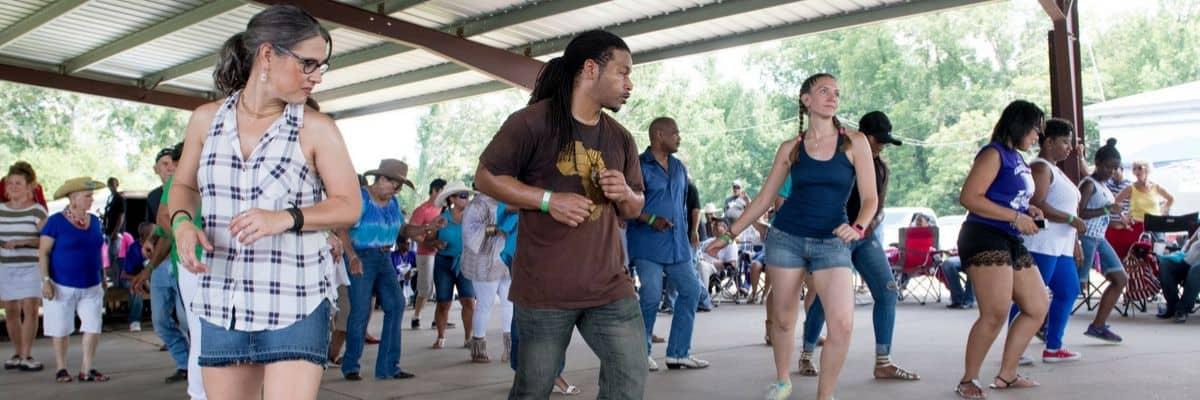 Lebeau Zydeco Festival in Lebeau, Louisiana