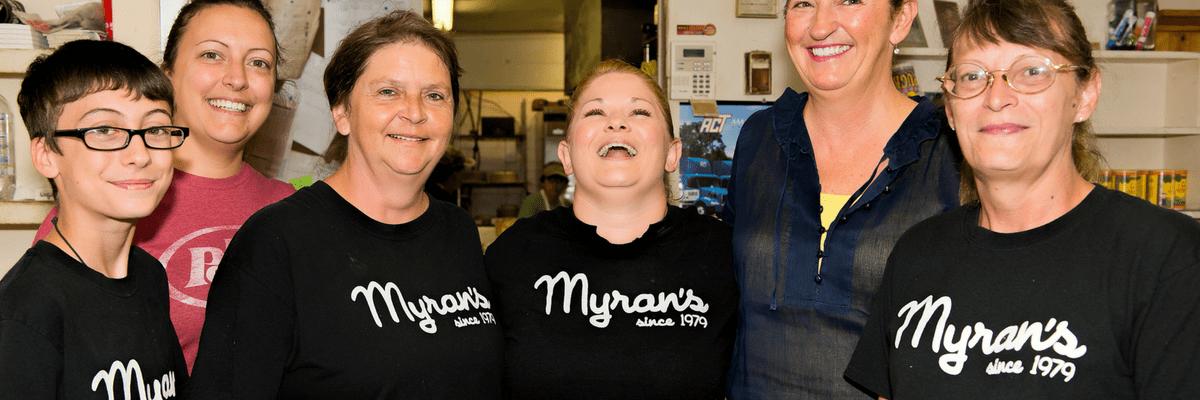Myran's Maison de Manger in Arnaudville, Louisiana