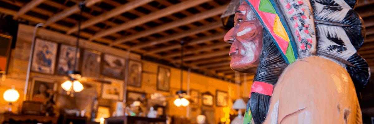 Sunset Antique Market in Sunset, Louisiana