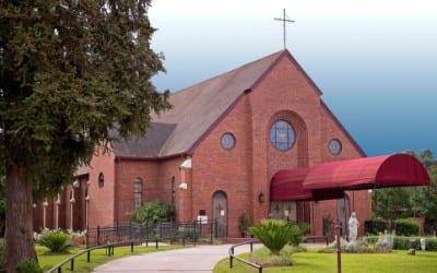 Holy Ghost Catholic Church in Opelousas, Louisiana