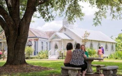Le Vieux Village in Opelousas, Louisiana
