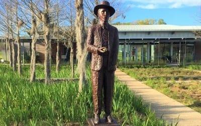 St. Landry Parish Visitor Center in Opelousas, Louisiana