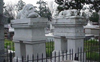 St. Landry Catholic Church & Cemetery in Opelousas, Louisiana
