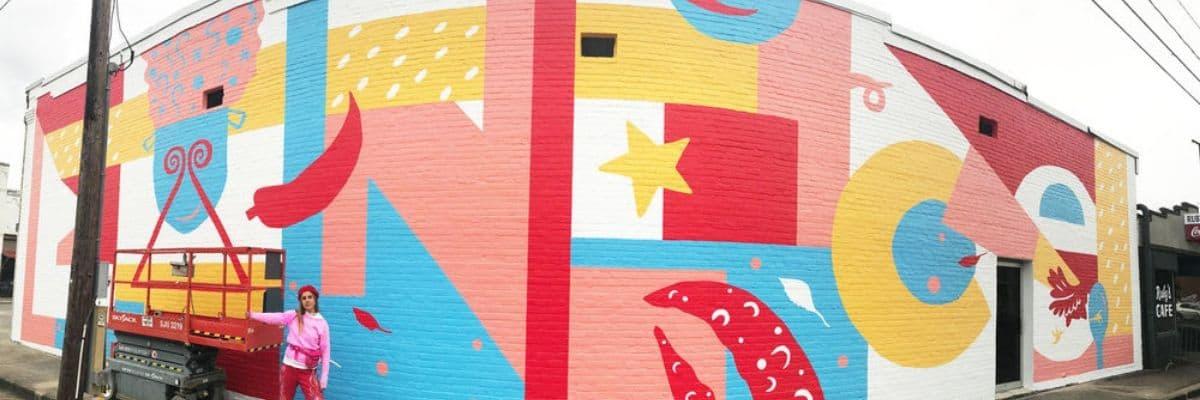 Hannah Gumbo Mural, Eunice, Louisiana