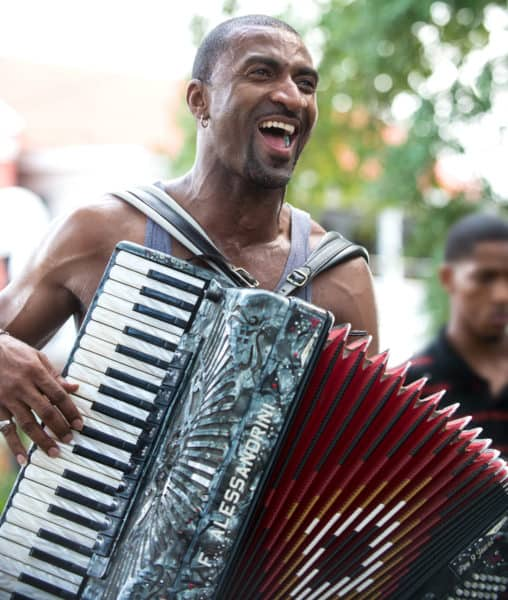 Curley Taylor & Zydeco Trouble at Music & Market