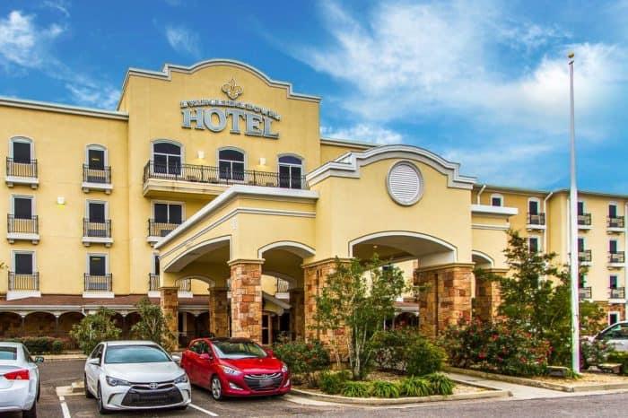 Evangeline Downs Hotel in Opelousas, Louisiana