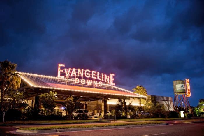 Evangeline Downs Racetrack Casino in Opelousas, Louisiana