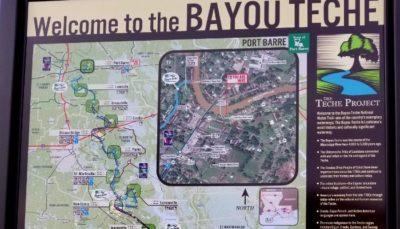 Bayou Teche, Port Barre, Louisiana