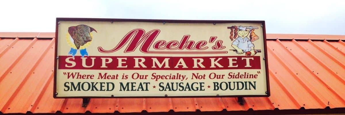 Meche's Supermarket, Opelousas, Louisiana