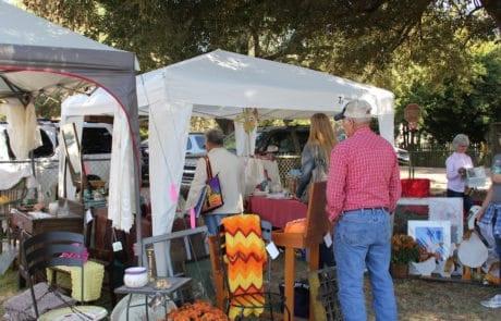 Semi Annual Antique Fair & Yard Sale in Washington, Louisiana at the Old Schoolhouse Antique Mall