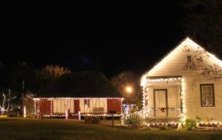Le Vieux Village Lighting of the Village in Opelousas, Louisiana