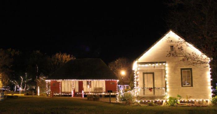 The Lighting Of Village St Landry Parish Tourist