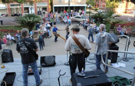Music & Market in Opelousas, Louisiana