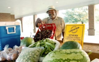 Opelousas Farmers Market in Opelousas, Louisiana