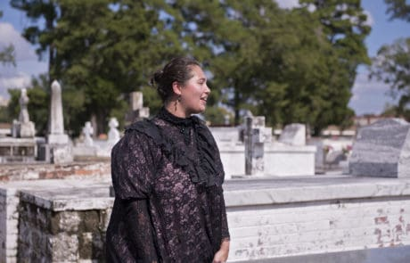 St. Landry Catholic Church Cemetery Tours and Historical Reenactments in Opelousas, Louisiana
