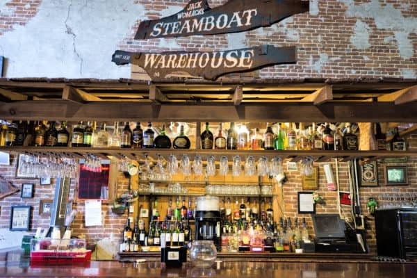Steamboat Warehouse Restaurant in Washington , Louisiana